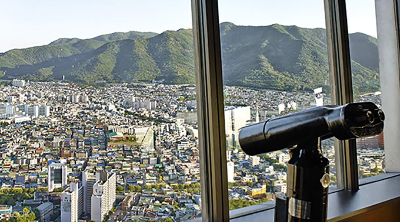 views of daegu at 83 tower